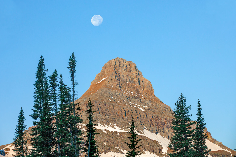 Mount Reynolds Moon