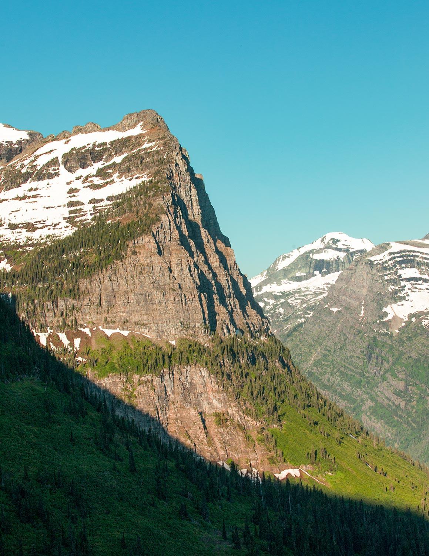Cliffs of Glacier National Park