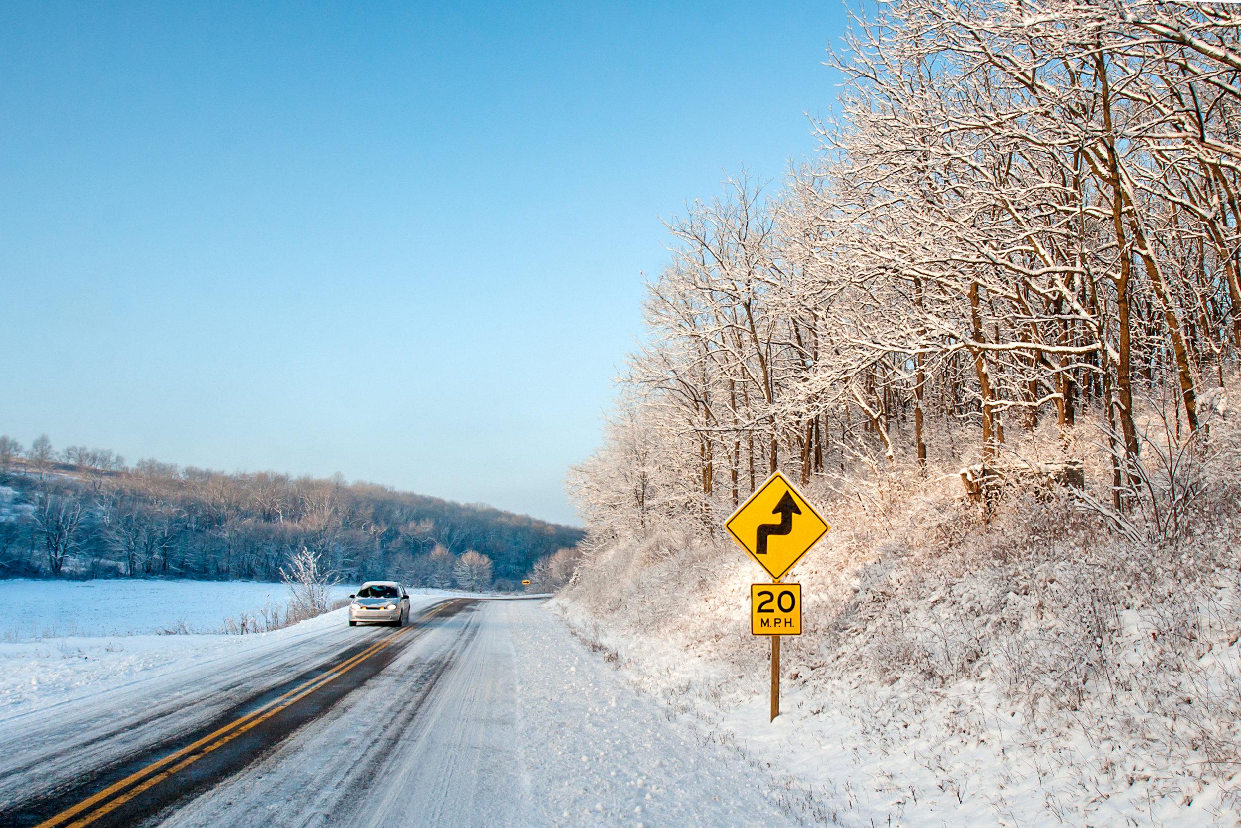 Dangerous Winter Roads