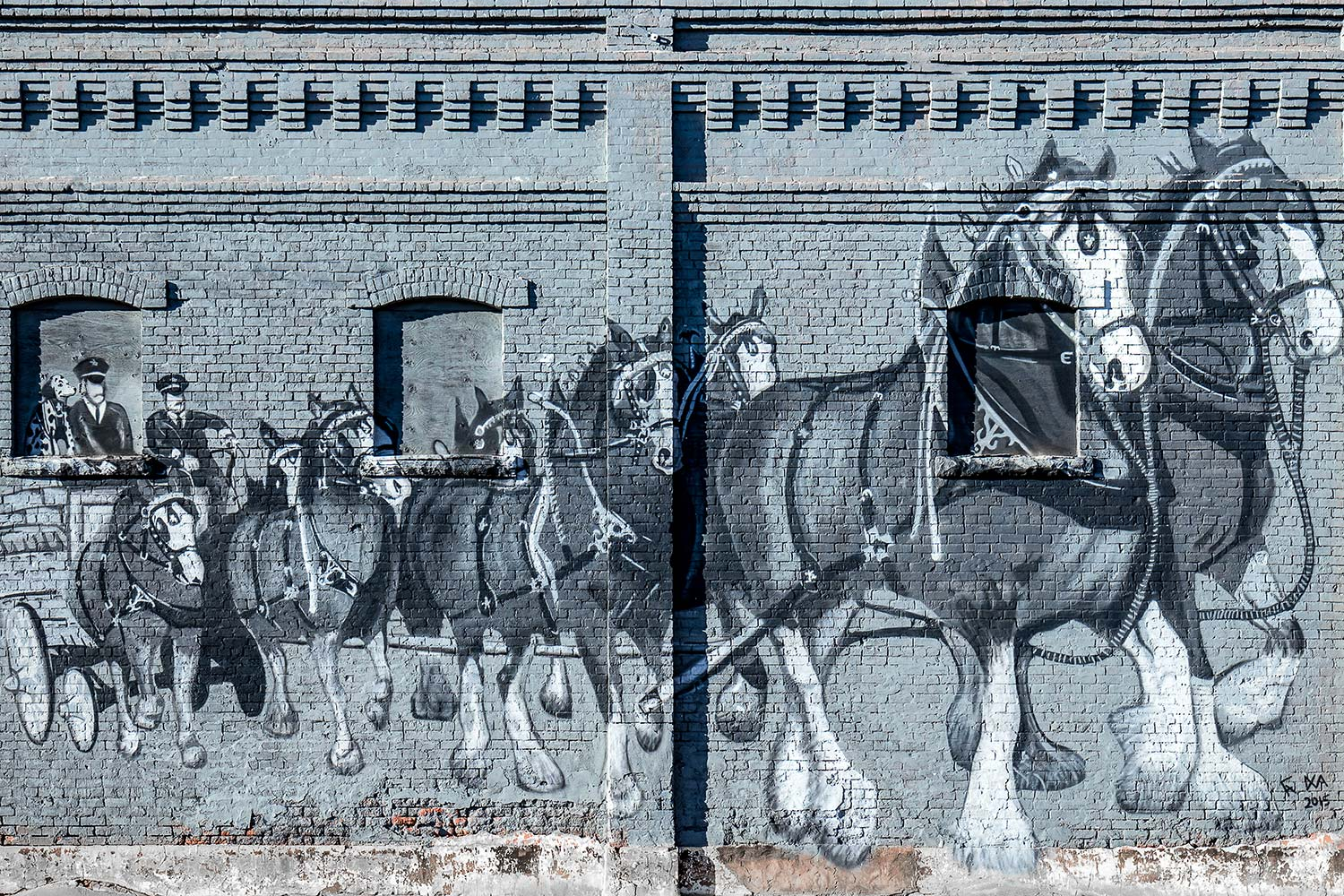 Clydesdale Mural
