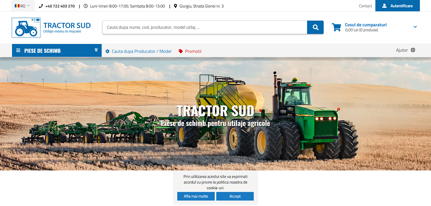 This website in Romania licensed one of my  farm equipment stock images  (seen above), which shows a John Deere 8970 tractor pulling an air drill while seeding wheat near Conrad, Montana.   → Buy a Print   or   License Photo