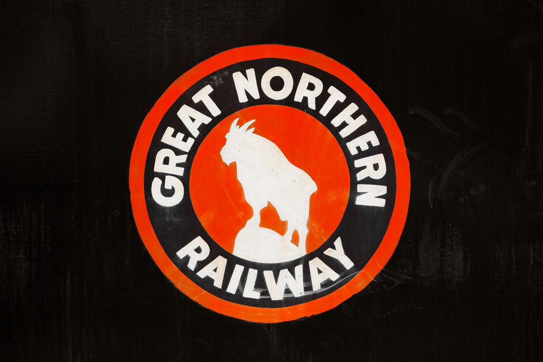 Great Northern Logo on Black
