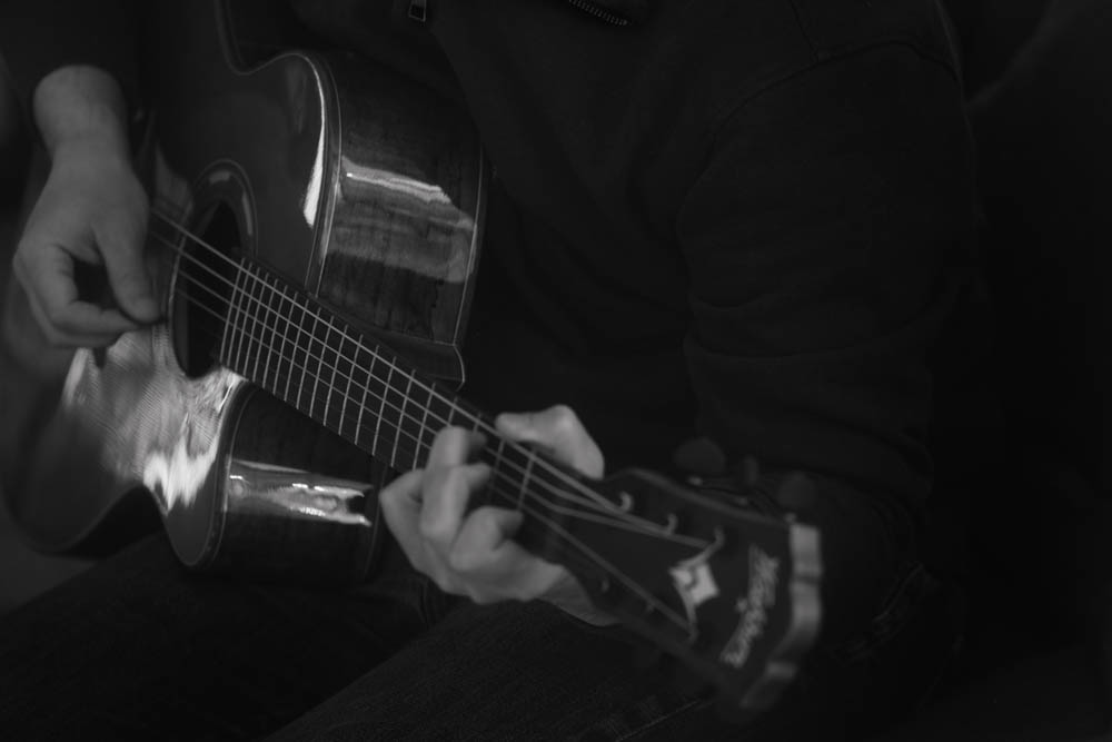 the first of what is sure to be many guitar photographs in this project...