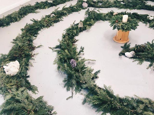Join us for a Sacred Winter Spiral tonight at Cocoon Healing Arts Studio, 1030C Montana Ave, Santa Monica #savortheholiday #sacredseason #silentnight