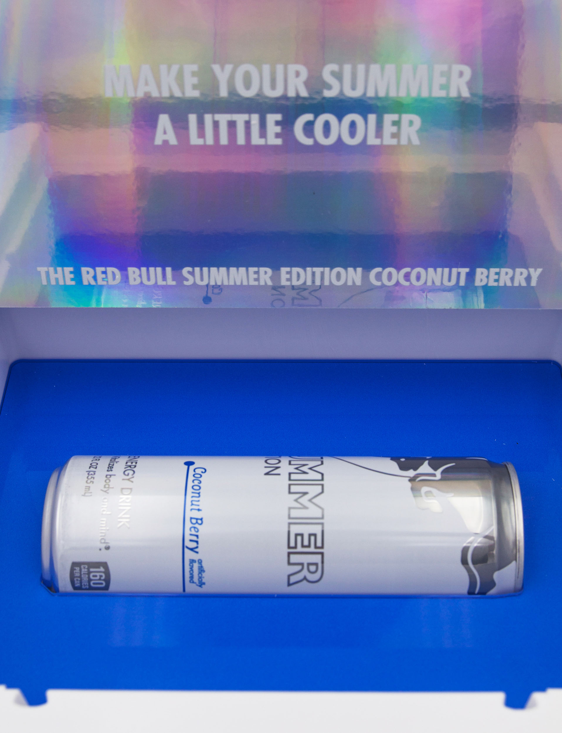 red bull summer edition cooler