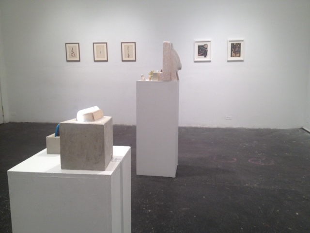 Installation Shot of Collage-Age