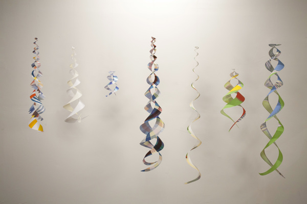 Spirals (kinetic paintings)