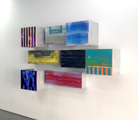 Calapez's work installed at Lynch Tham.