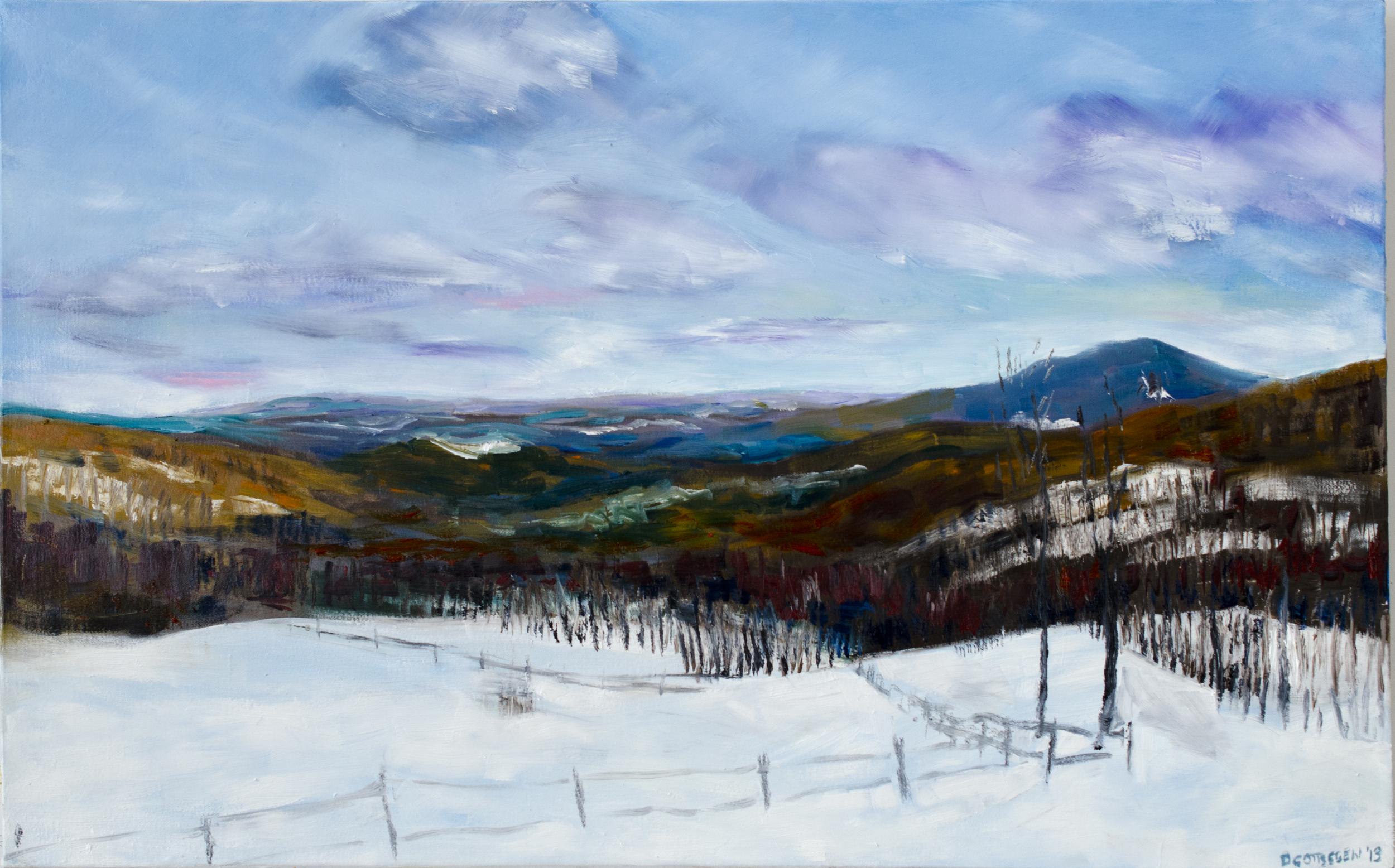 Studio Winter View