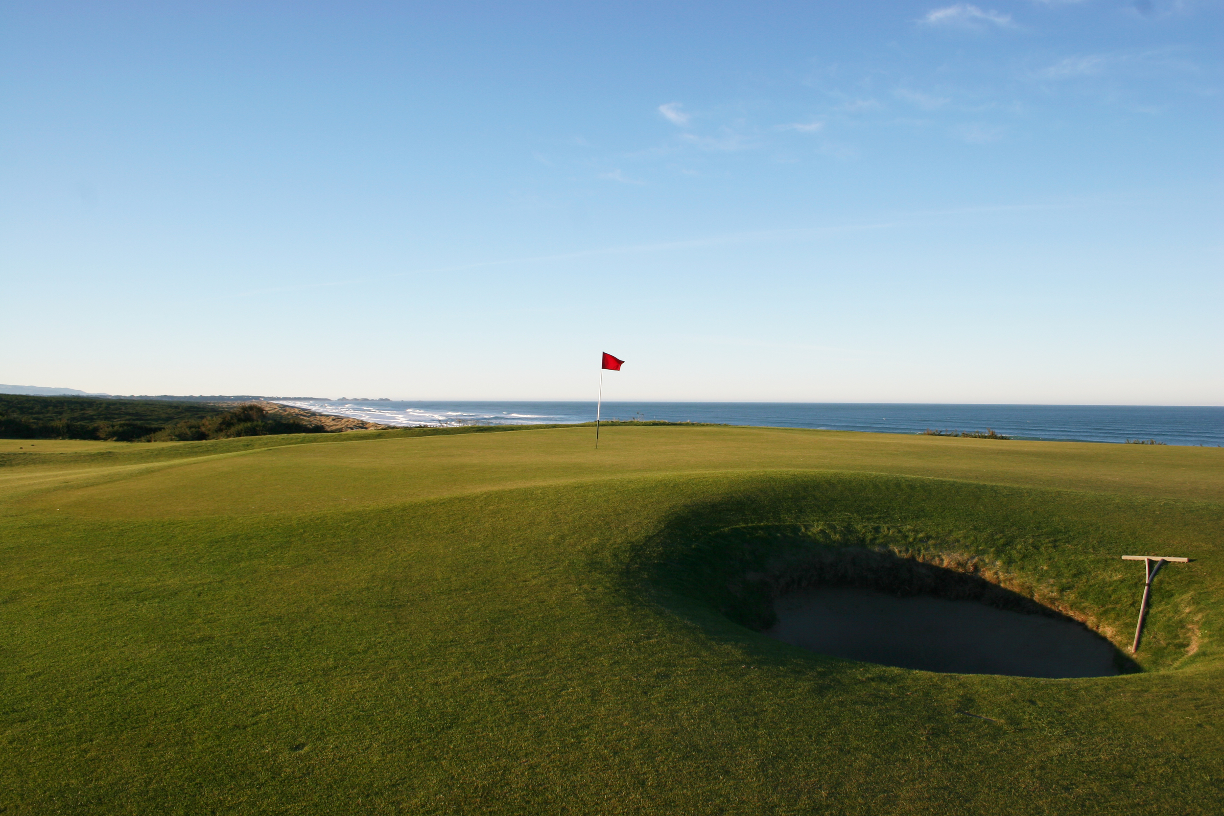 Bandon Dunes  - a well placed green-side bunker will demand a decision on the tee