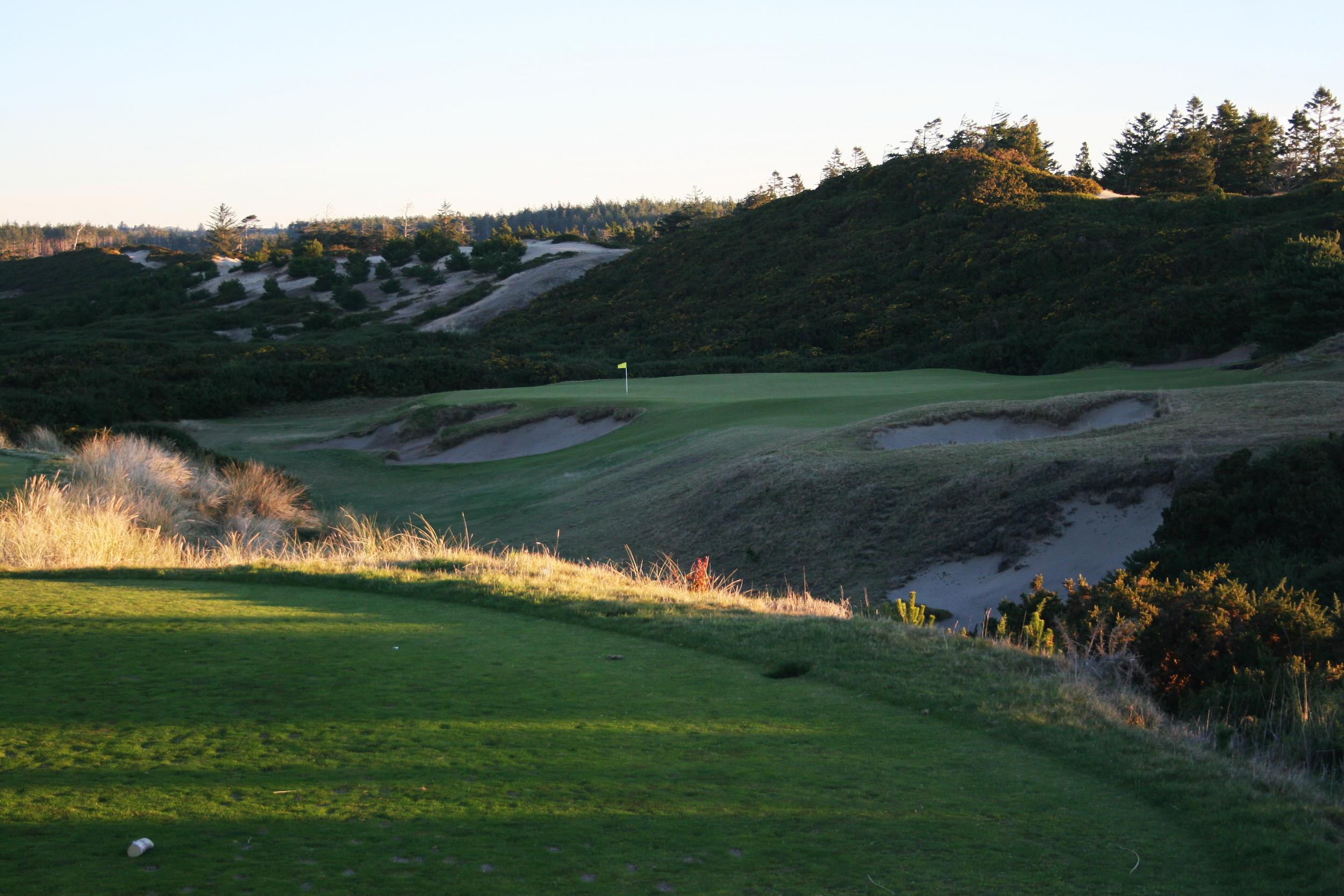Pacific Dunes  - turn to classic designs for inspiration; a modern take on the Redan design concept