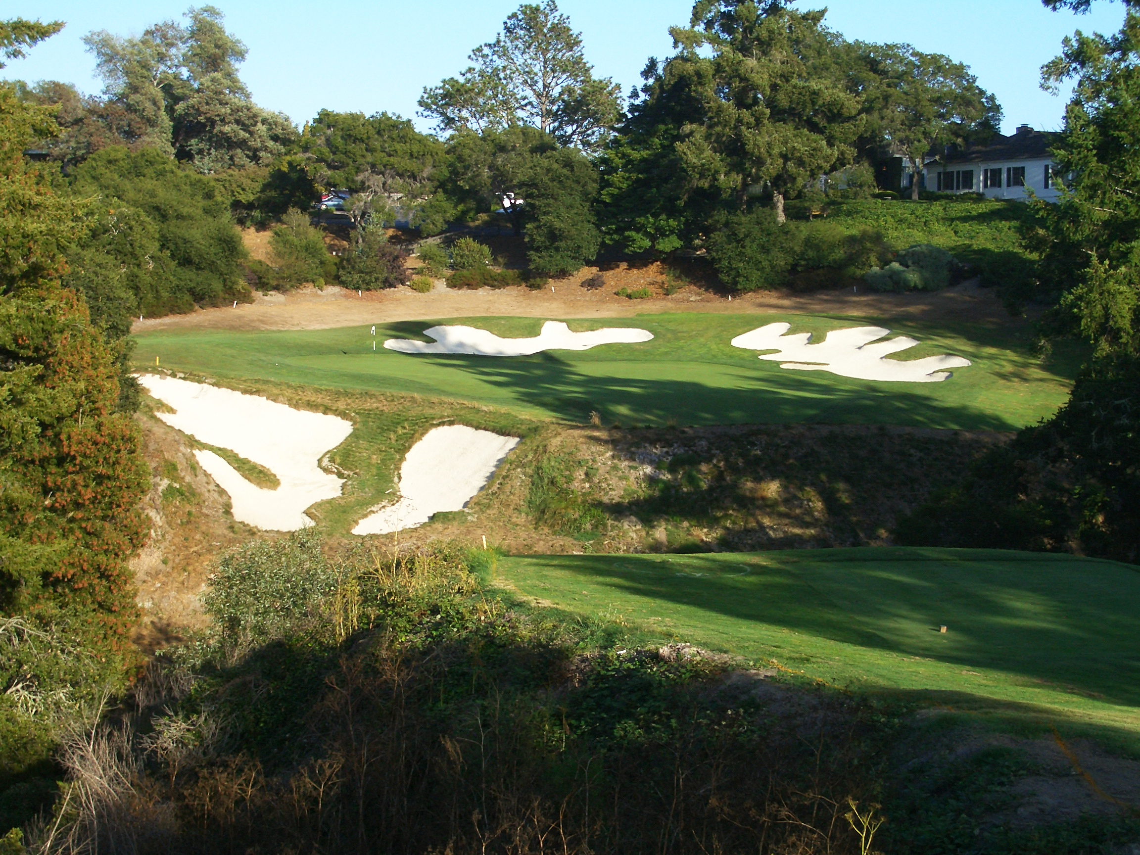 Pasatiempo  - it's ok for the 18th hole to be a par 3