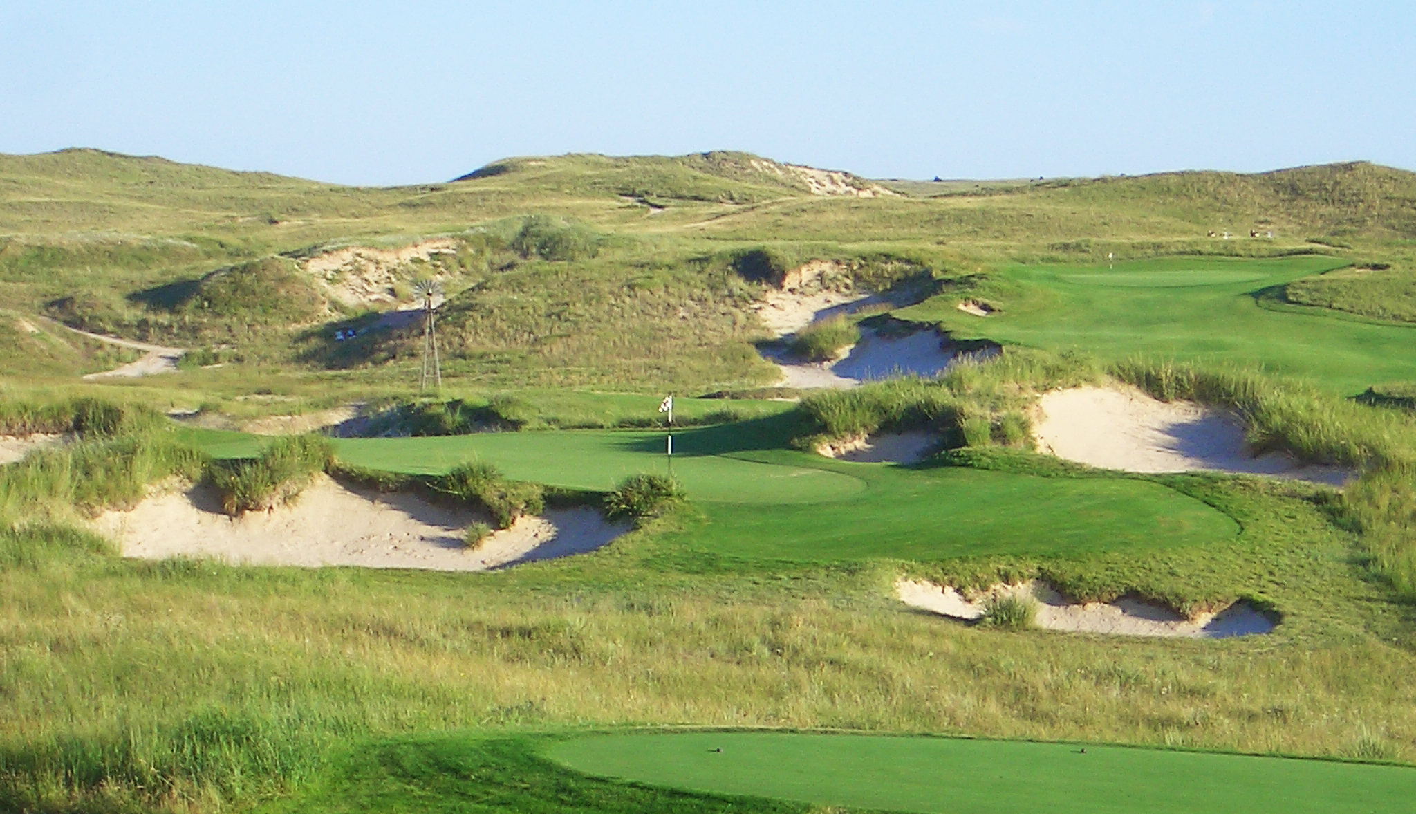 Sand Hills  - sometimes the golf holes are already there
