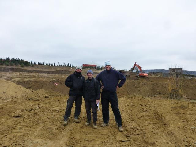 On site in Azerbaijan to review a drainage design.