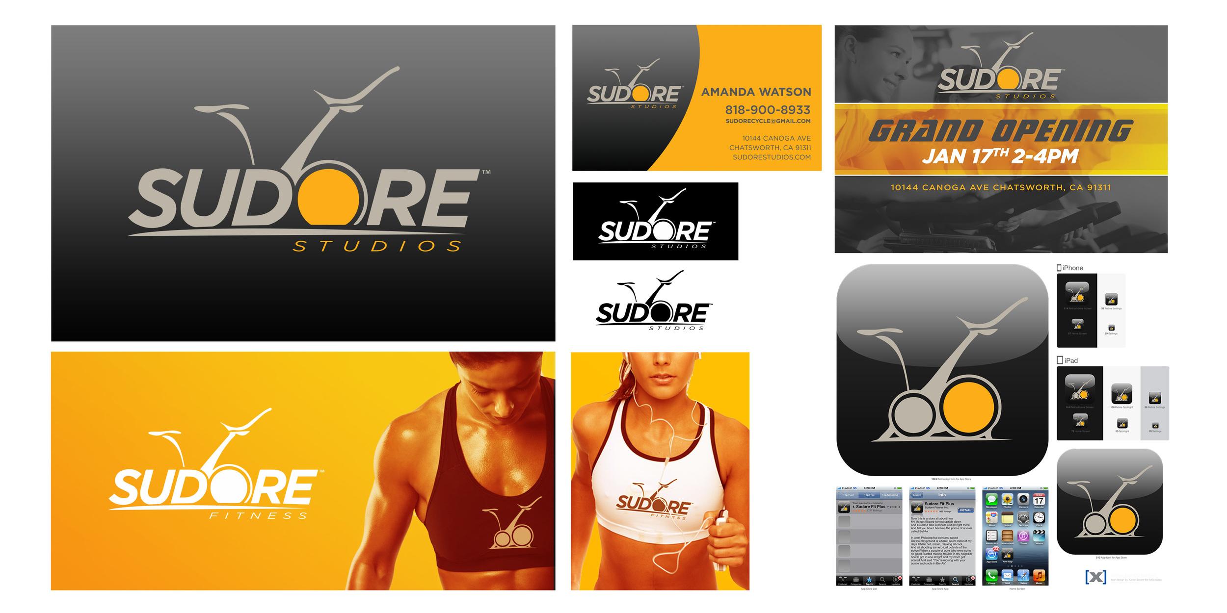 Sudore Studios Branding