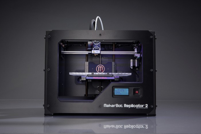 Replicator 2 from MakerBot Industries