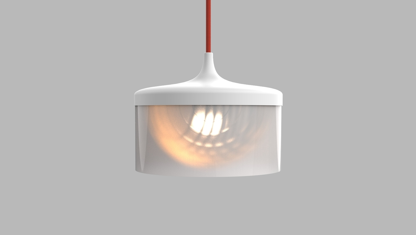 Mou Pendant Lamp with Sonte Film