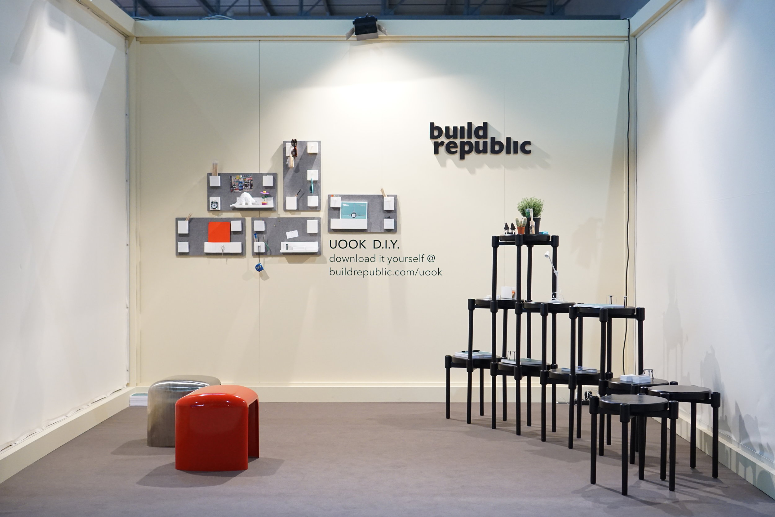 Build Republic booth at SaloneSatellite 2014 Milan Italy