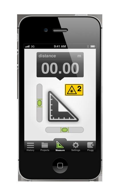 Plugg Ruler Mobile Application