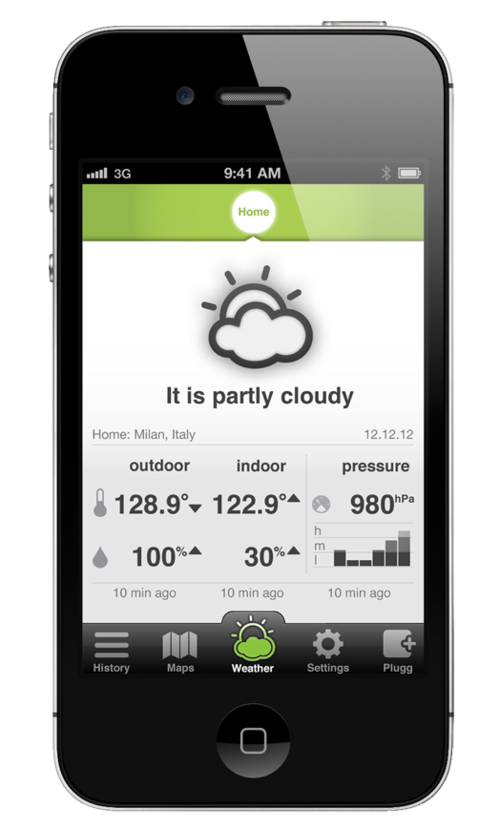 plugg weather app