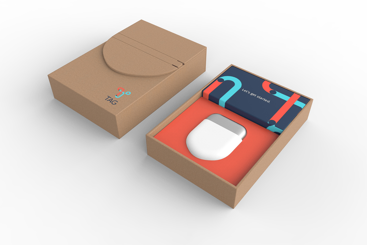 Tag Packaging Design and Industrial Product Design