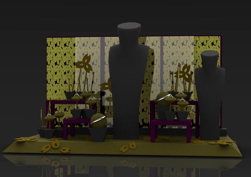 window display jewelry