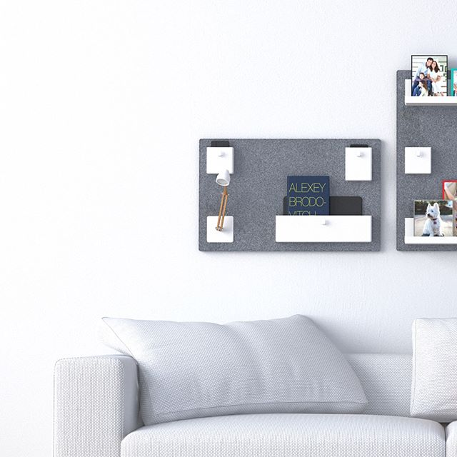 """The """"uook"""" wall organizer is created as a #design for download and #3D printed. It's highly #customizable and interchangeable to various types of user needs. Download it for free at buildrepublic.com/uook • • • #innovate #creativeideas #beautifuldesign #designstudio #designprocess #designer #3dprinting #industrialdesign #maker #productdesign #homedecoration #modulardesign #interiordesign #interiordecoration"""