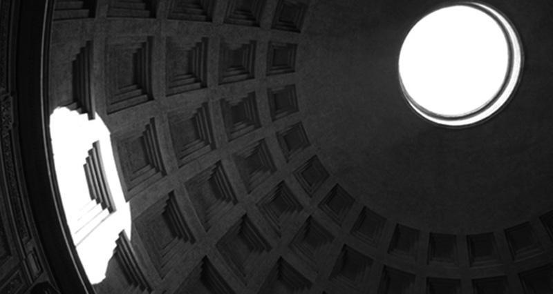 Il Pantheon, Roma, Italia.