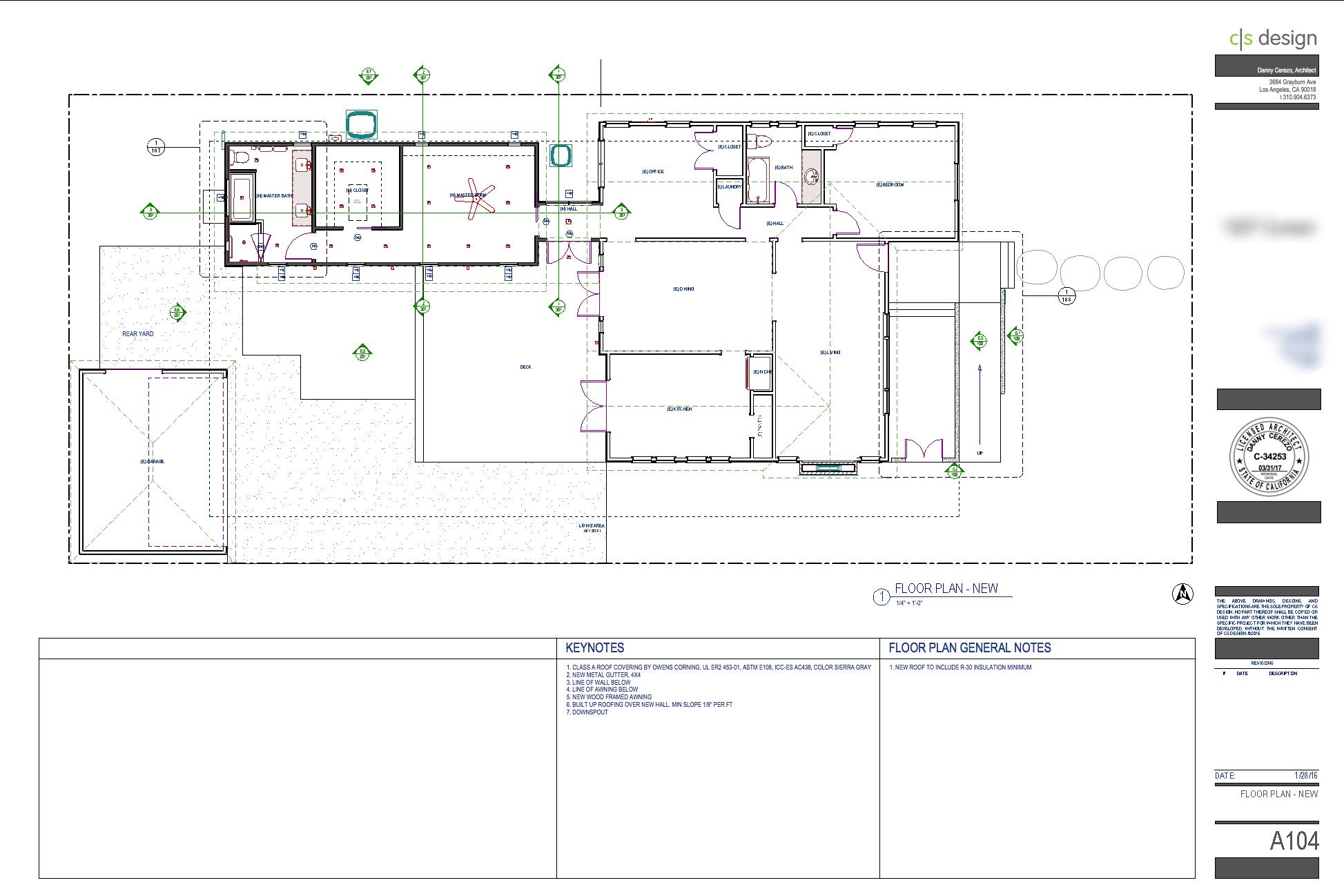 Floor Plan Sheet.