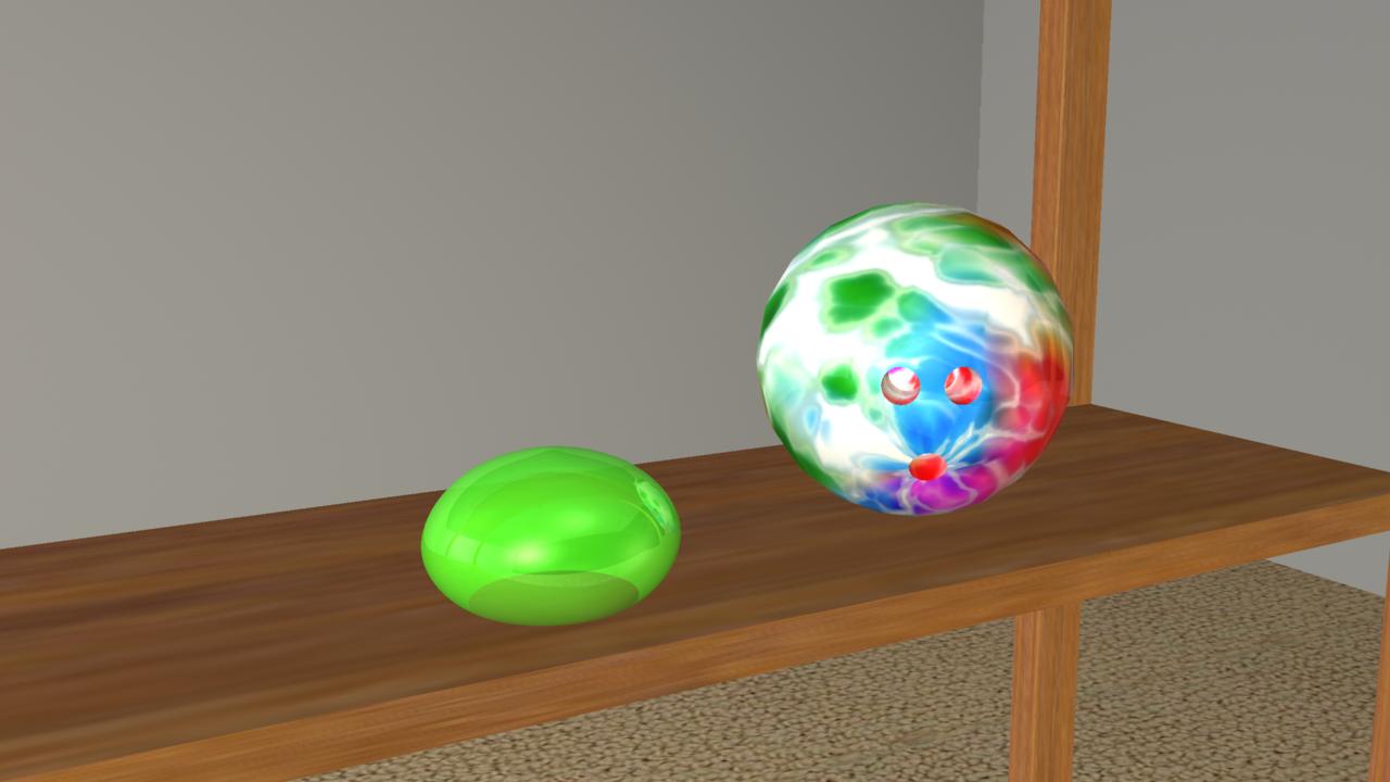 Opposing Balls