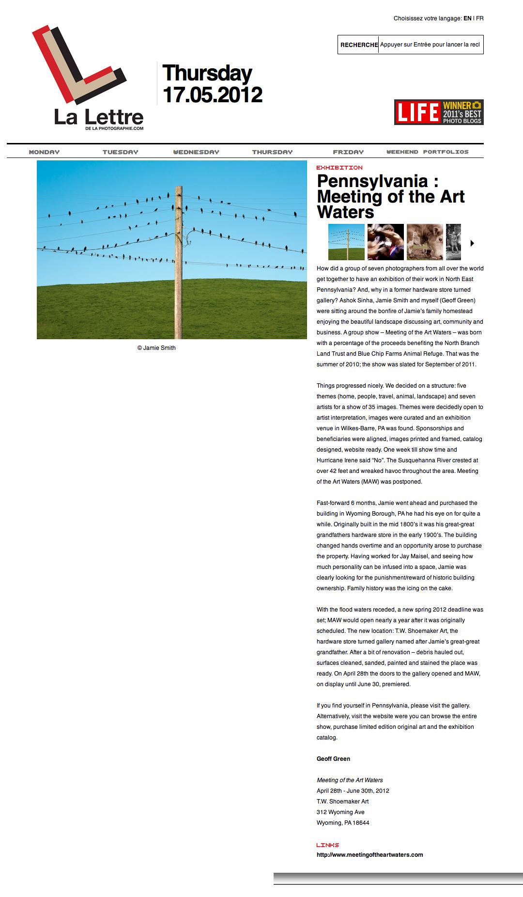 La Lettre de la Photographie - April 2012