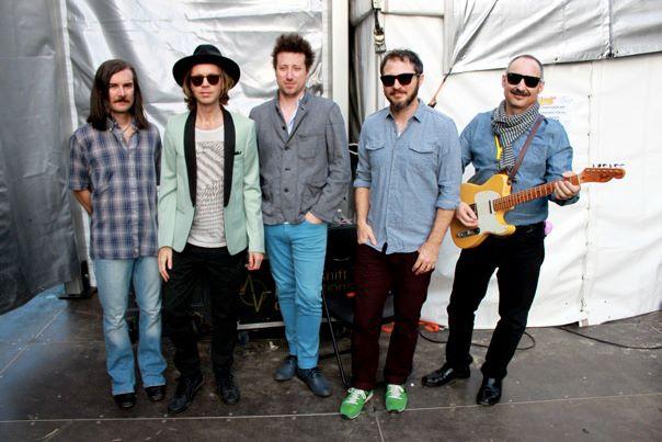 Beck and band