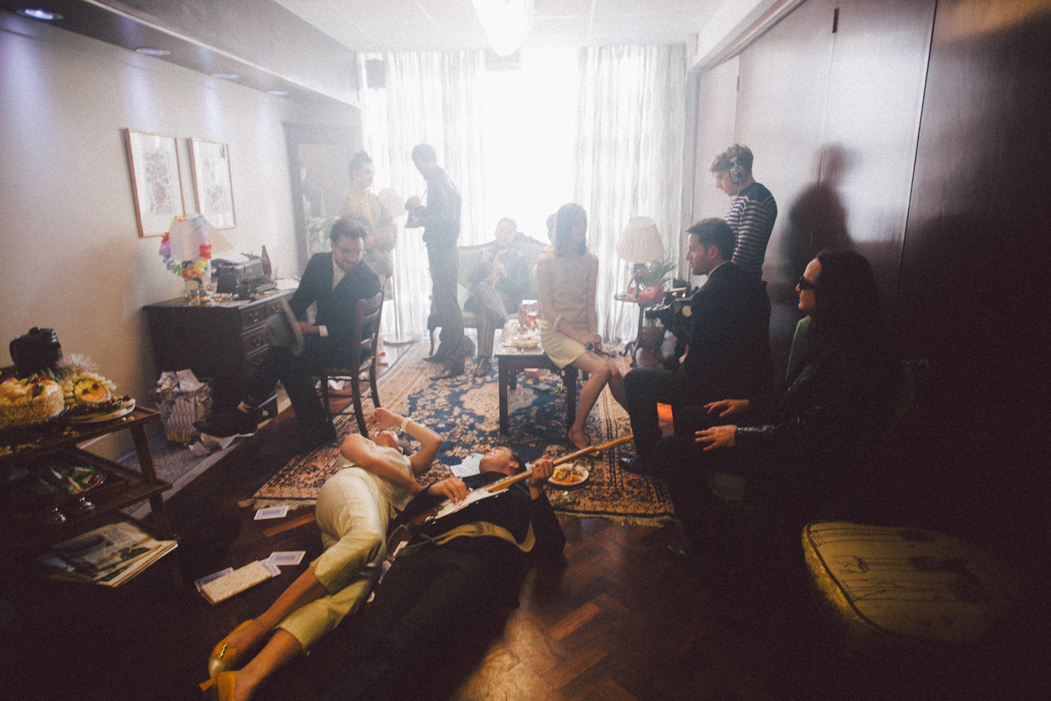 Exclusive BTS on their new video clip, for Esquire