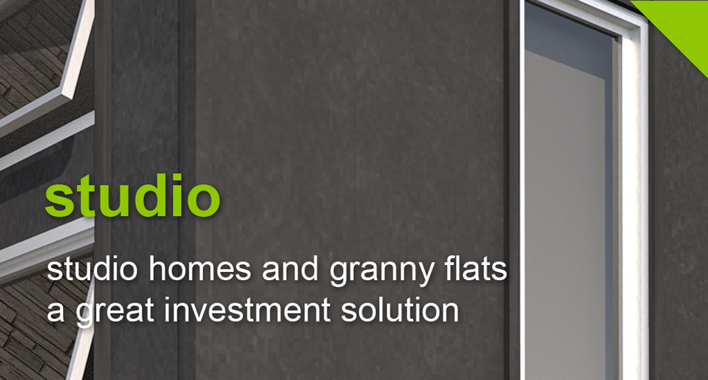 studio homes and granny flats a great investment solution