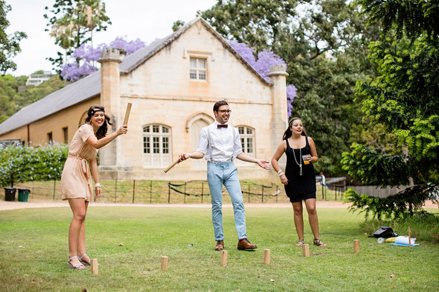 Roll On  - long lunch and lawn sports in your 1920s Sunday best on the grounds of Vaucluse House
