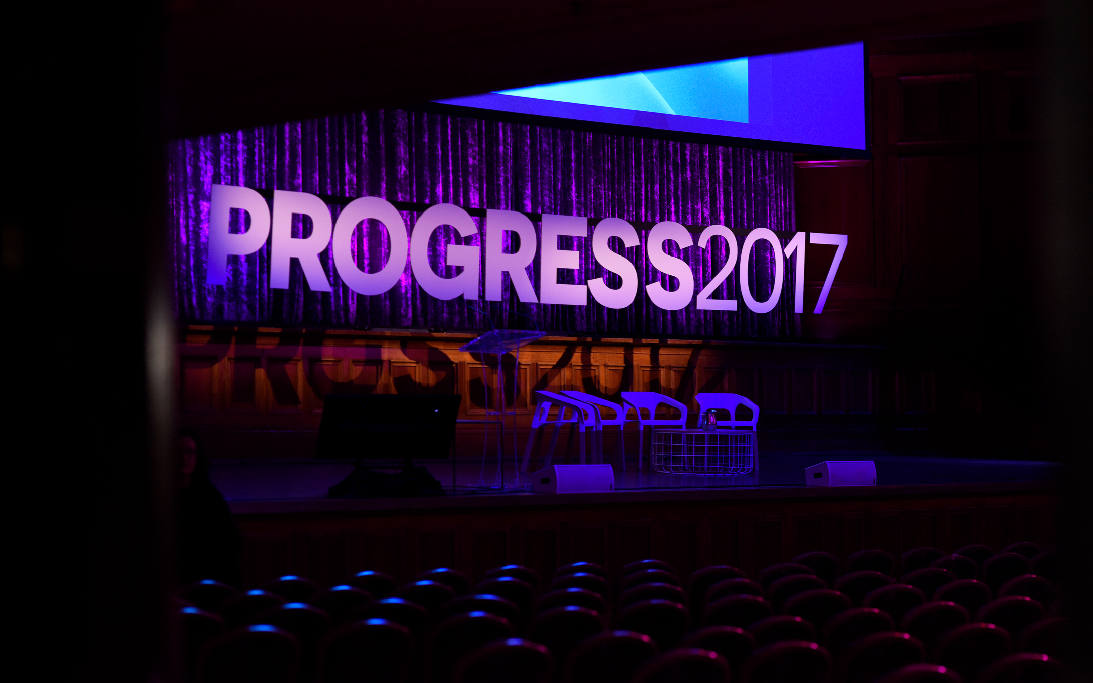 Almost ready for Progress 2017