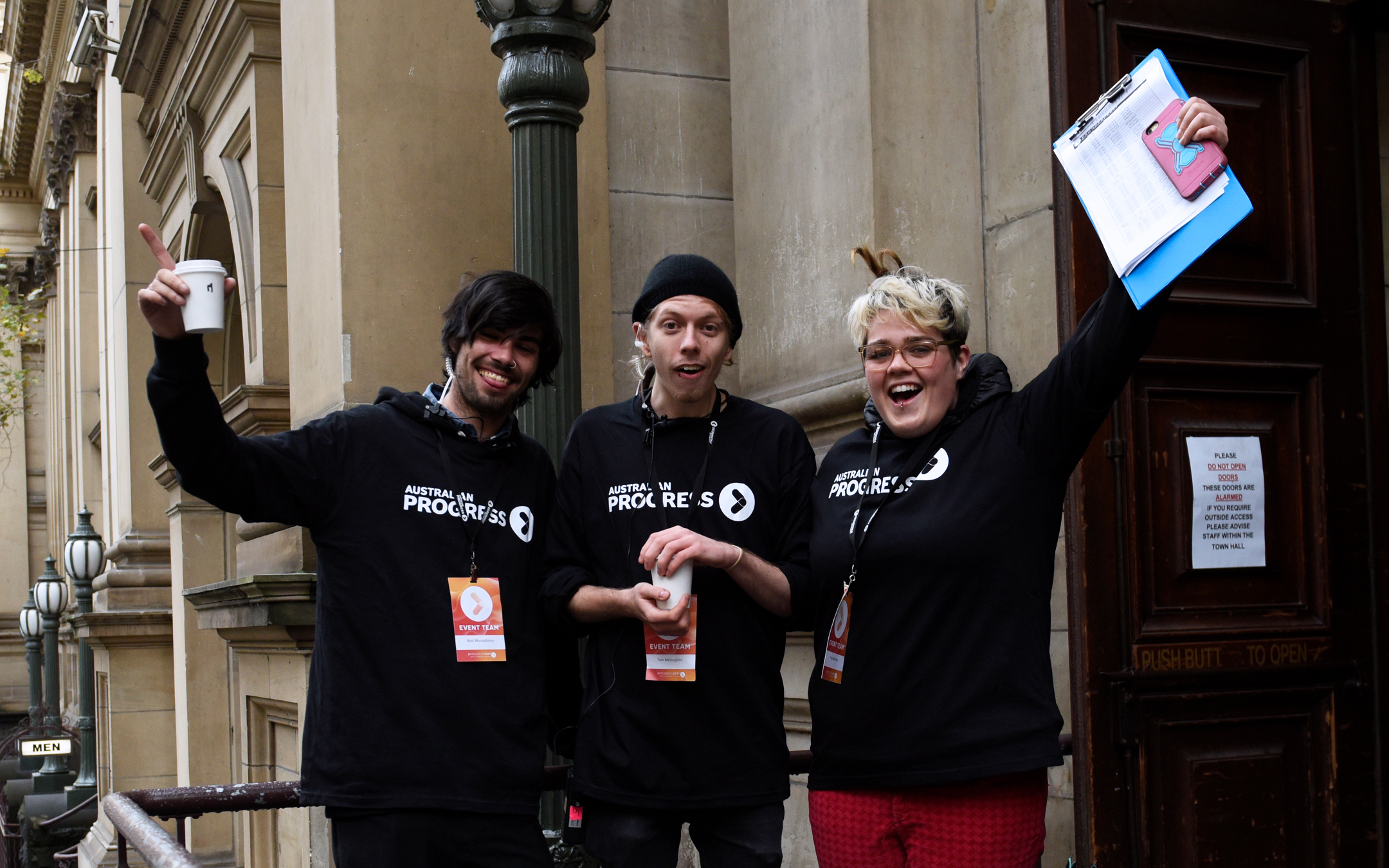 Our Ace Volunteers at Progress 2017