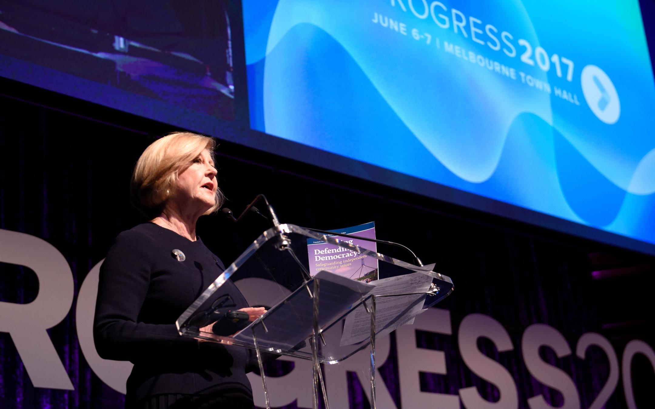 Gillian Triggs Keynote