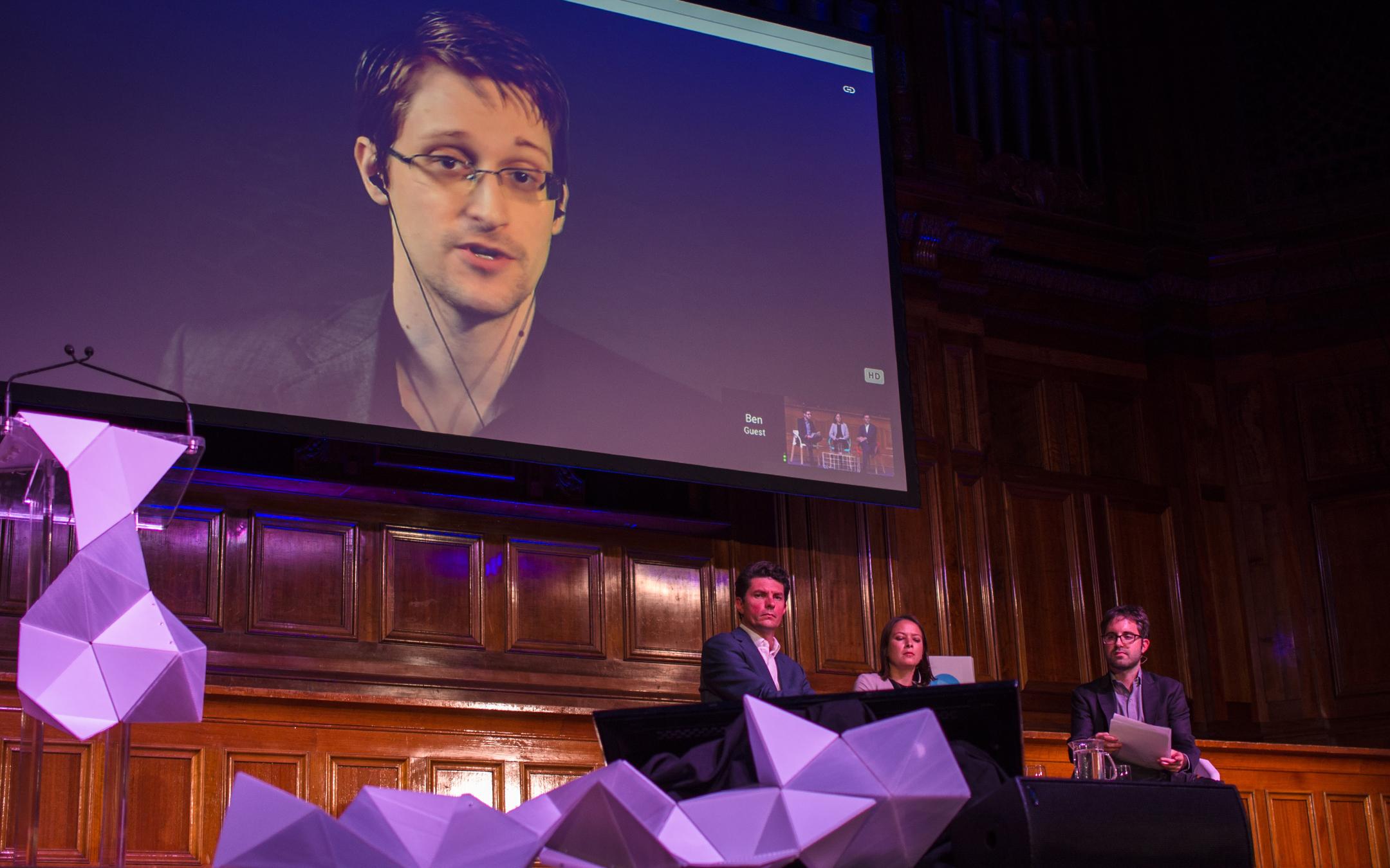 Edward Snowden Progress 2015