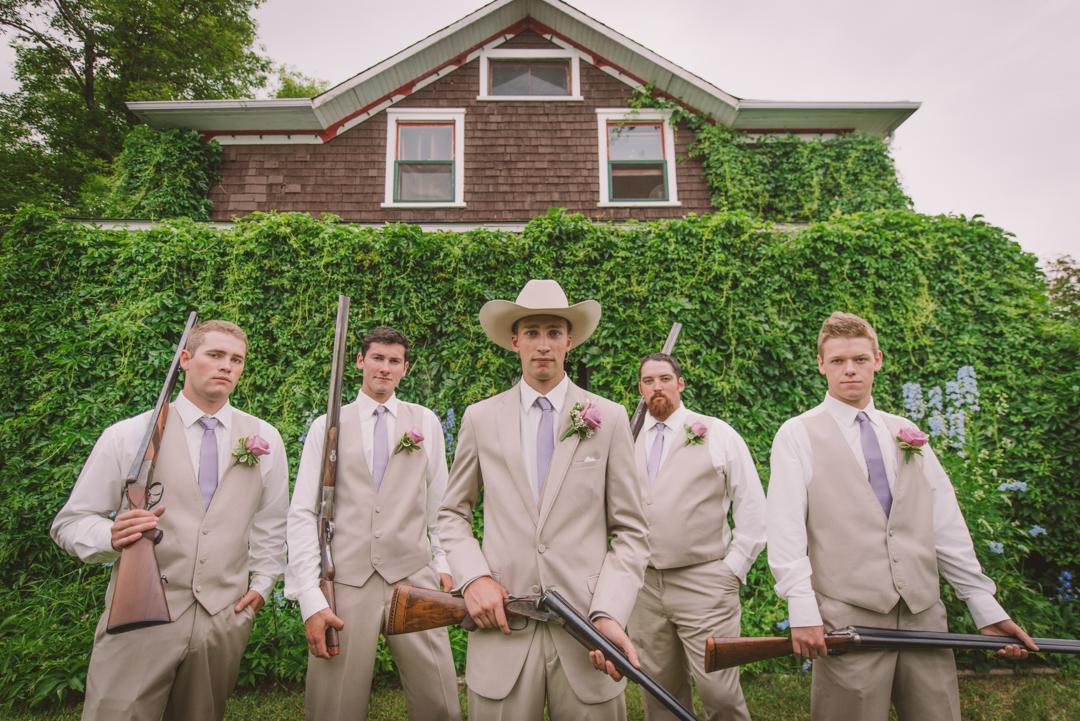 Saskatoon summer wedding