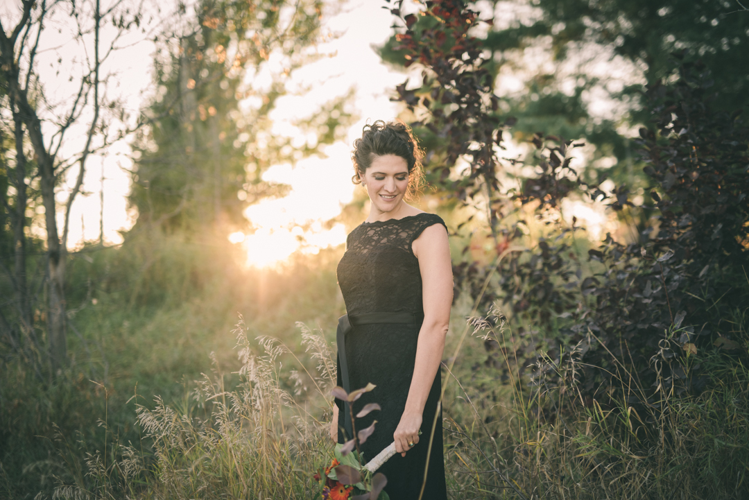 Saskatoon summer wedding
