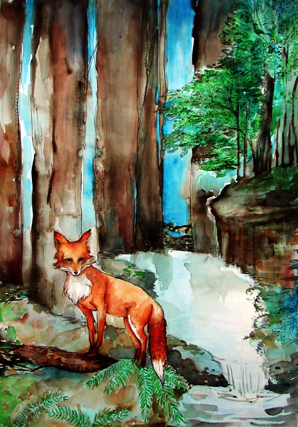 Fox in Forest.JPG