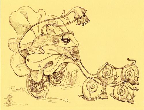 Fig Leaf Carriage