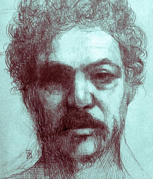 Stefano is a portrait of Stefano Garaffa Botta, a Sicilian musician and philosopher.