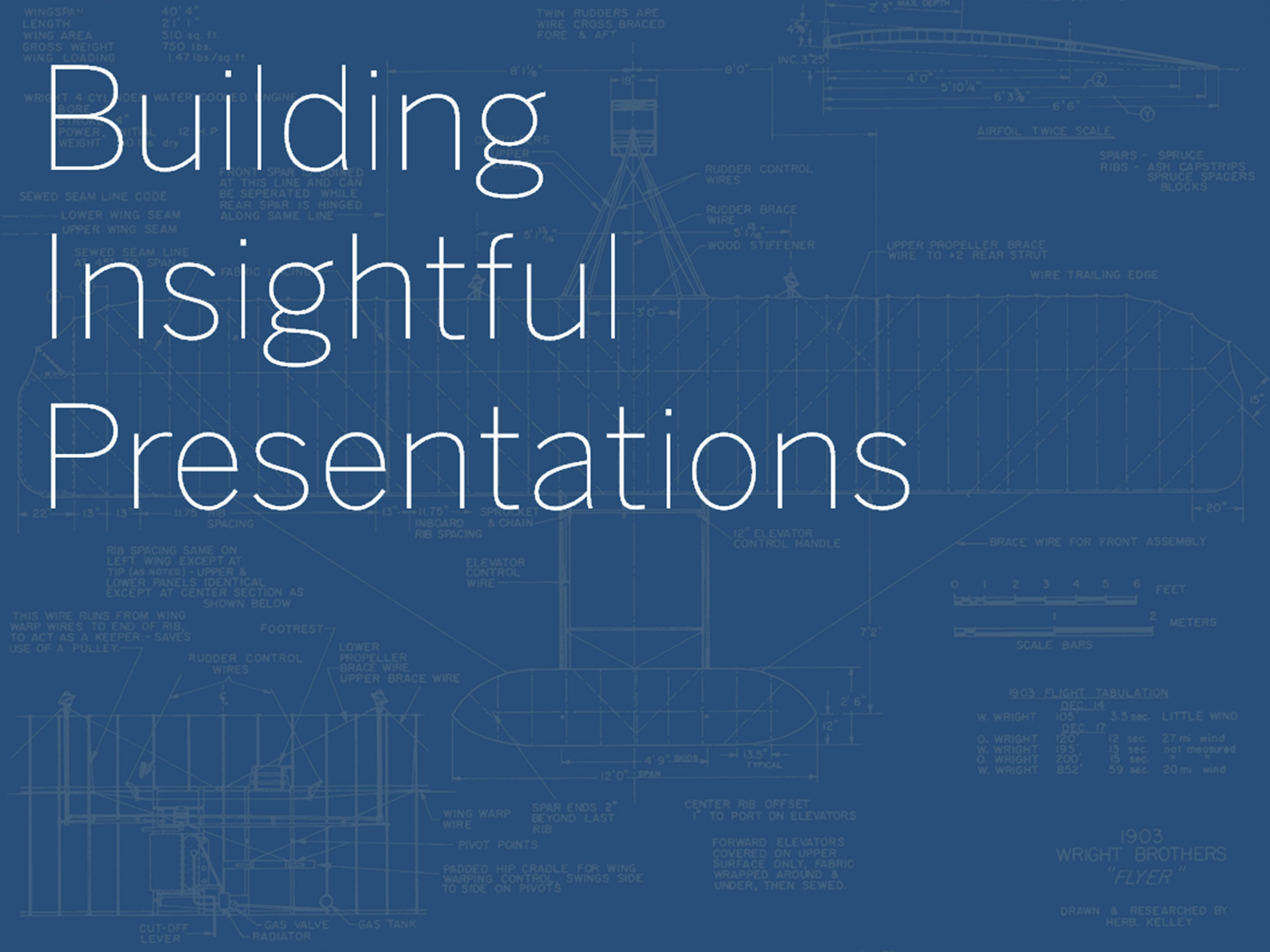 Building  Insightful Presentations  7 Deck Rules