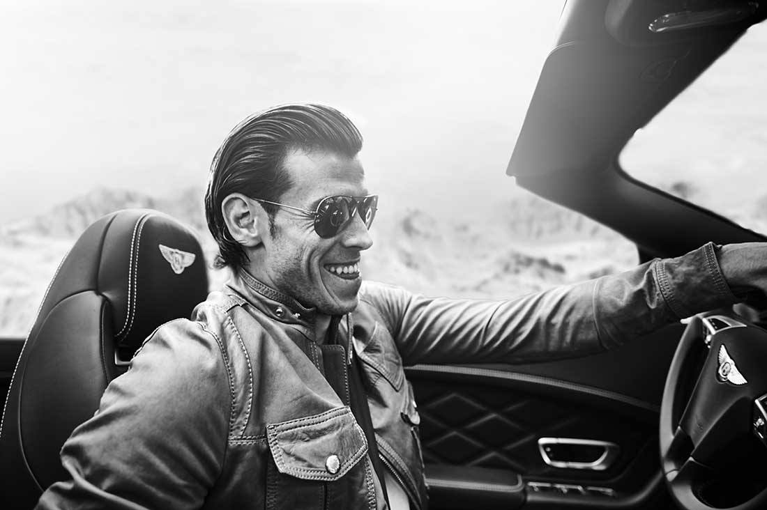 9 Gareth Bale driving a Bently Ben Duffy Phoography Portrait.jpg
