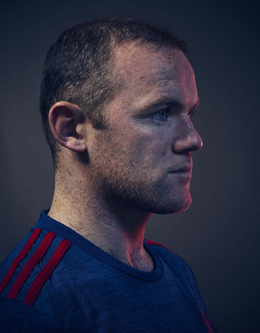 25 Wayne Rooney Coloured portrait Ben Duffy Photographer Photography.jpg