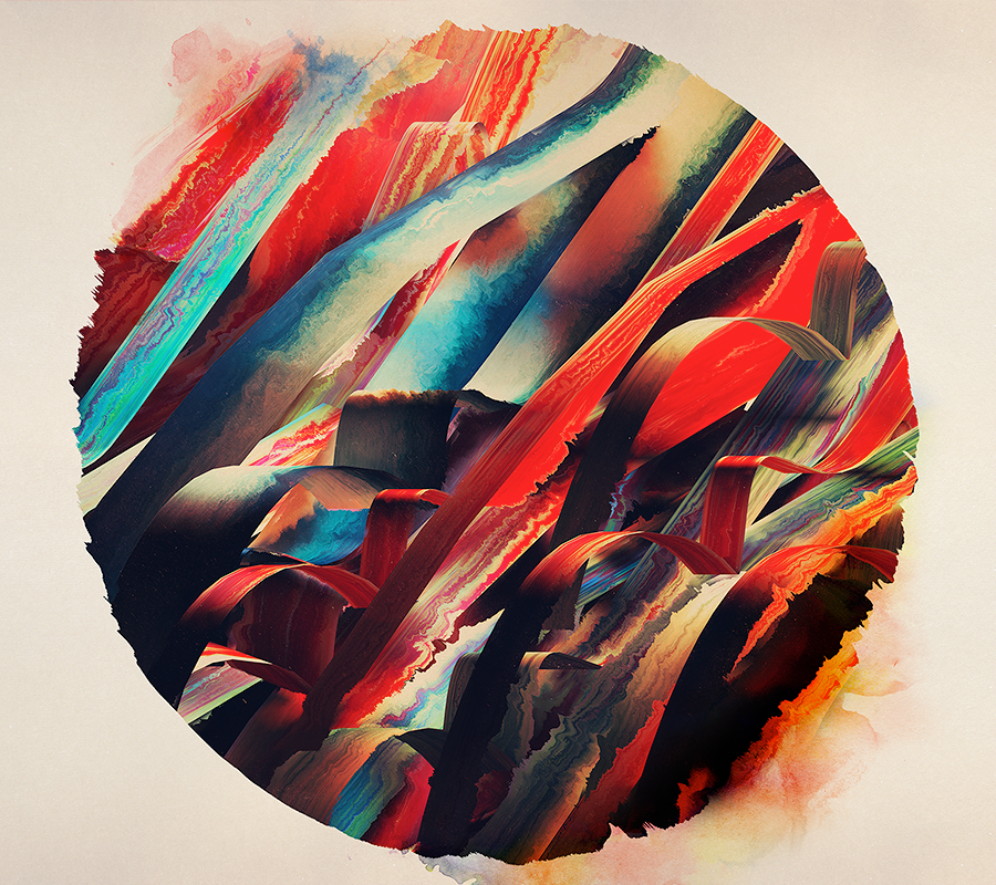 64 watercolored lines available for print at Society6