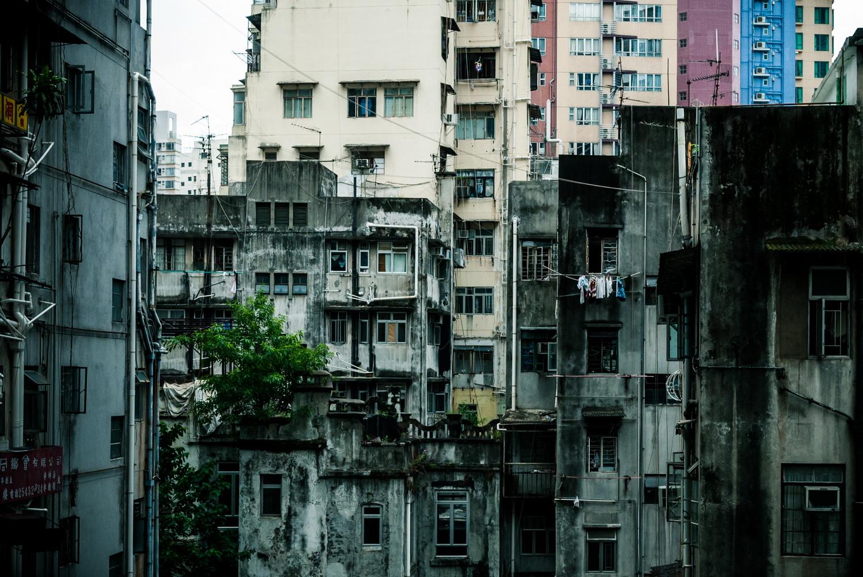 Hong Kong side street