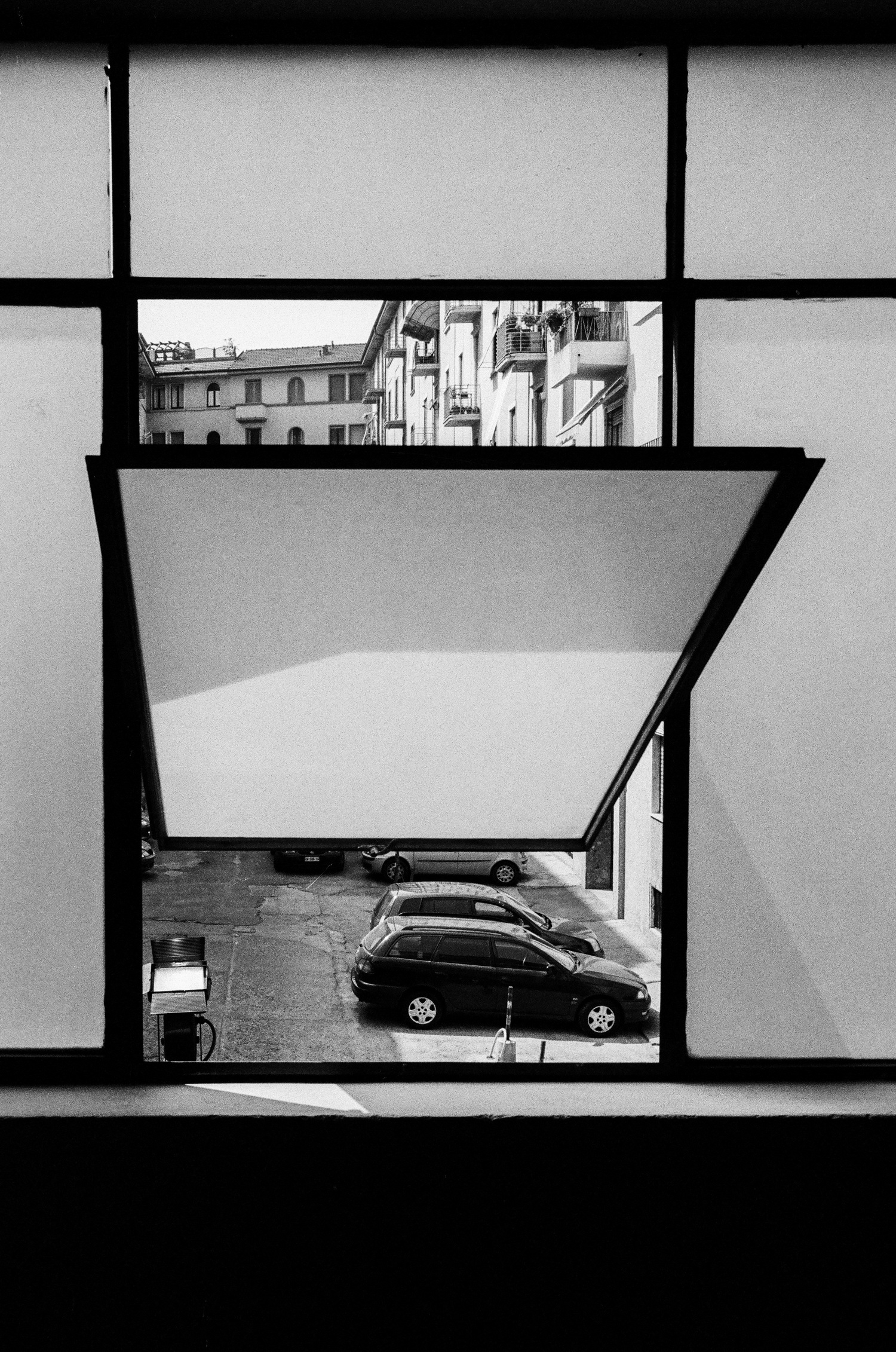 A Window and Milan